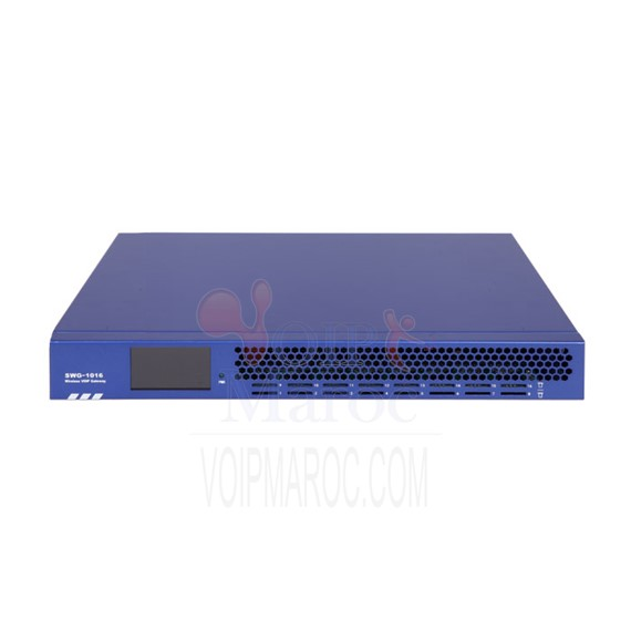 VoIP GSM Gateway 4 a 16 GSM Channels SWG-1016G