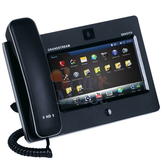 Grandstream GXV3175 Telephone IP Multimedia Telefon with 7