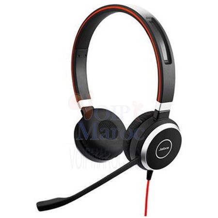 Micro-casque EVOLVE 40 MS Stéréo Optimisé Lync 6399-823-109