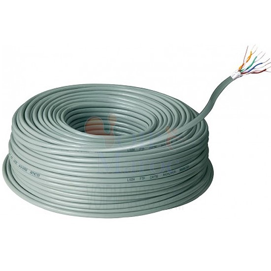 BOBINE DE CABLE CERTIFIE CAT6A FTP/UTP 305M GREY LIN-CAT6A_F/