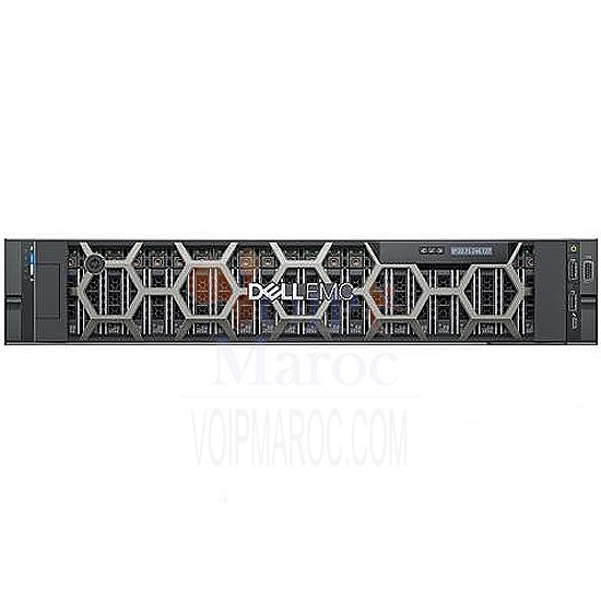 Serveur Rackable PowerEdge R740 Intel Xeon 4110 16GB 3*600GB PER740-SLV4110C