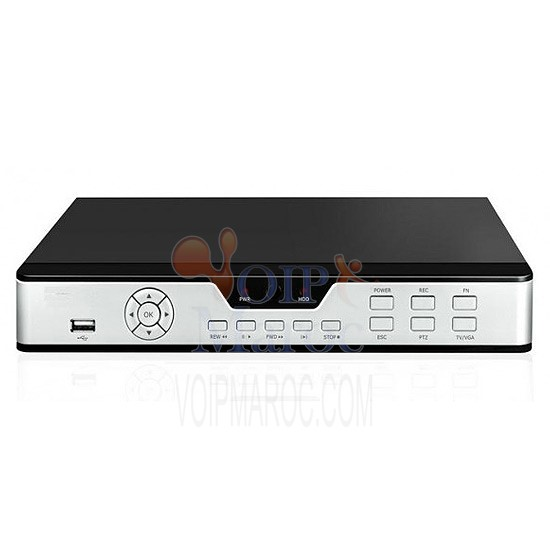 DVR 4 CH Video Compression H.264 VT-DVR9104V